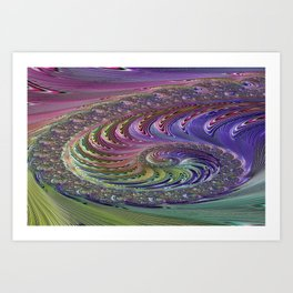 Cultured Intuition 9 Art Print