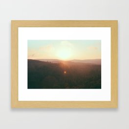 Northern Minnesota Sunsets Framed Art Print