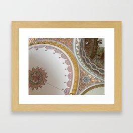 Istanbul au top Framed Art Print