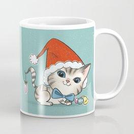 Christmas Kitty Coffee Mug
