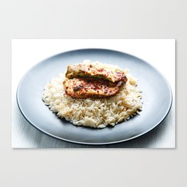 Chicken and Rice Canvas Print
