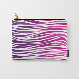 Pandanus Bark - Magenta Carry-All Pouch