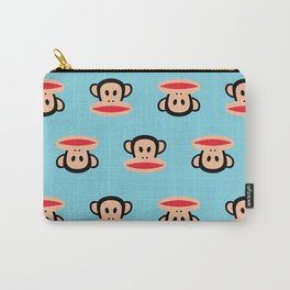 Julius Monkey Pattern by Paul Frank - Blue Carry-All Pouch