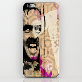 All work and no play makes Jack a dull boy iPhone Skin