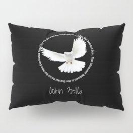 Bible: John 3:16 Pillow Sham