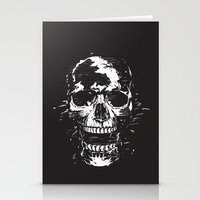 scream Stationery Cards featuring Scream by Balazs Solti