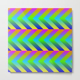 Colorful Gradients Metal Print