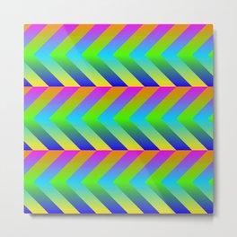 Colorful Gradients Metal Print