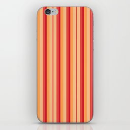 zakiaz sunburst stripe iPhone Skin