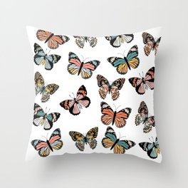 You Give Me Butterflies.. Throw Pillow