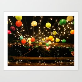 Lights of PhiPhi Art Print