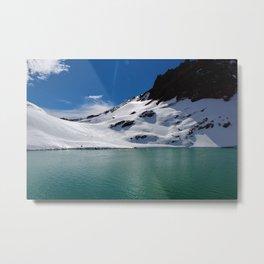No Name Lake Metal Print