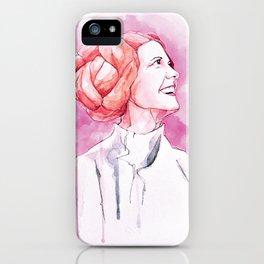 Leia Organa iPhone Case