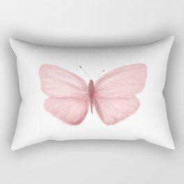 Rose Butterfly Rectangular Pillow