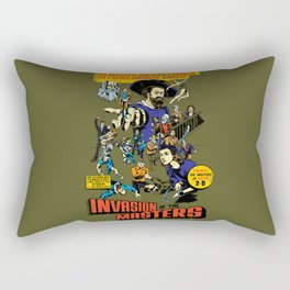 Invasion of the Masters! Rectangular Pillow
