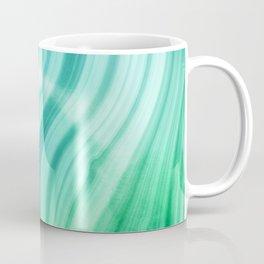 Ocean Blue And Green Mermaid  Marble Coffee Mug