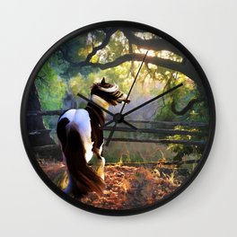 Gypsy Fall Wall Clock