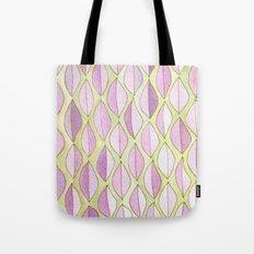 #40. JULIA - Feather/Leaves Tote Bag