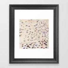 Beach Love VI Framed Art Print
