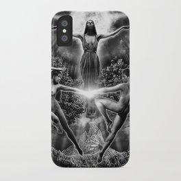 VI. The Lovers Tarot Illustration iPhone Case