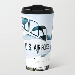 US Air Force Airplane Travel Mug