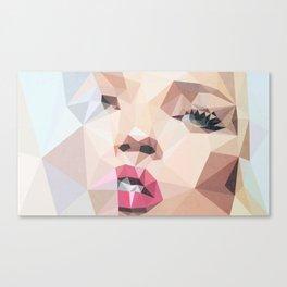Polymoss Canvas Print