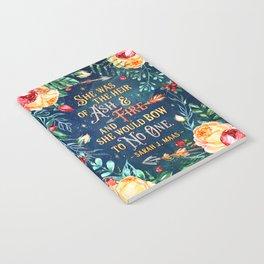 Ash & Fire Notebook