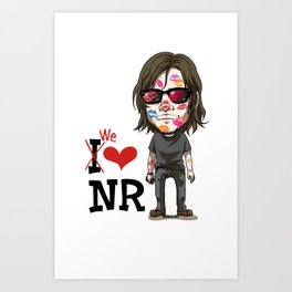 We love Norman! Art Print