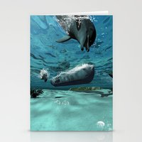 submarine Stationery Cards featuring Submarine  by nicky2342