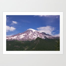 Mt Rainier, Washington Art Print