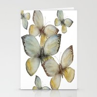 craftberrybush Stationery Cards featuring Fall Butterfly by craftberrybush