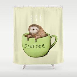 Sloffee Shower Curtain