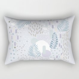 Close to Nature - Simple Doodle Pattern 2 #society6 #pattern #nature Rectangular Pillow