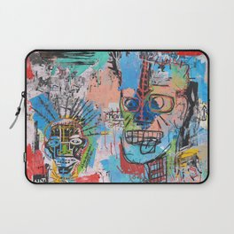 Close your eyes and breathe deeply Laptop Sleeve