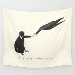 The History of Affecting Others Wall Tapestry