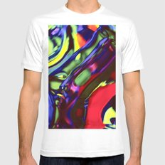 Incarnation of Madness Mens Fitted Tee White MEDIUM