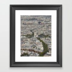 Arc de Triomphe Framed Art Print