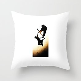 Free Fall I Throw Pillow