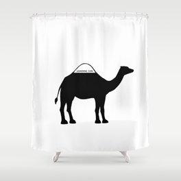 Camel Shower Curtain