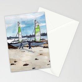 Saint-Maló beach Stationery Cards