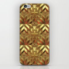 Golden Patchwork iPhone & iPod Skin