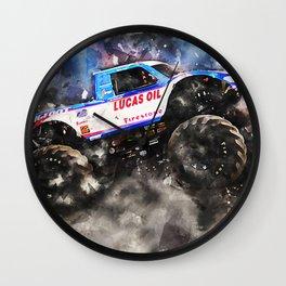 Big Foot 15 Wall Clock