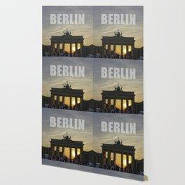 BERLIN, Sunset at the Brandenburg Gate Wallpaper