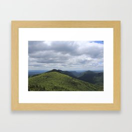 Linville Gorgeous  Framed Art Print