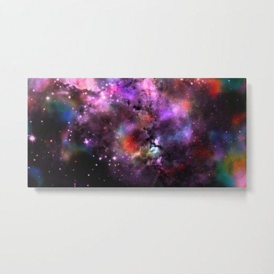 A Sprinkle Of Color in Space Metal Print