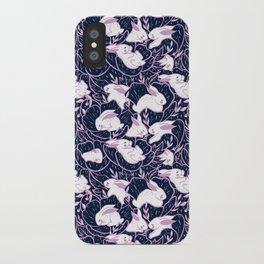 Where the bunnies sleep iPhone Case
