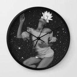 midnight bathing Wall Clock