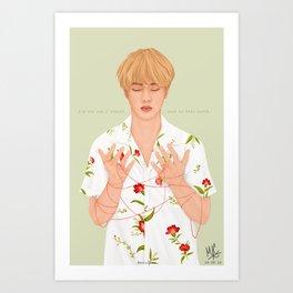 BTS Jin | Epiphany Art Print