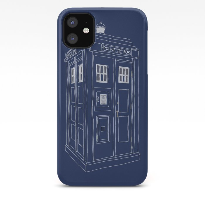 Doctor Who TARDIS NEW LOGO iphone case