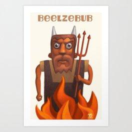 Beelzebub Art Print